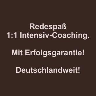 Redespass-Coaching deutschlandweit