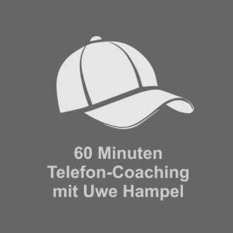 60-Minuten-Telefon-Coaching mit Uwe Hampel