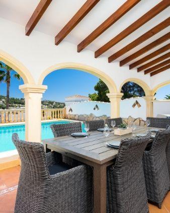 holiday rentals in Moraira