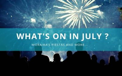 What's on in Moraira in July ?