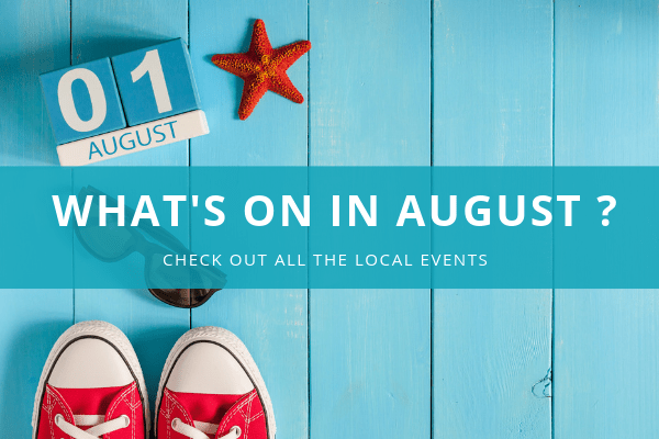 What's on in August in Moraira ?