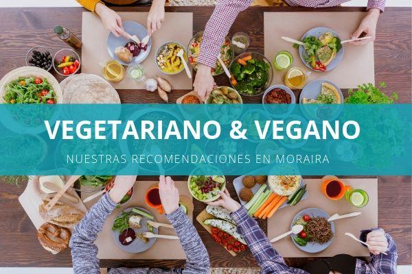 Comida vegetariana y vegana en Moraira