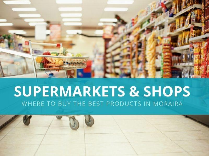 Supermarkets in Moraira