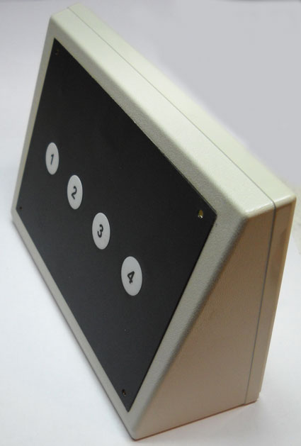 Brightsign 4 Button Membrane Switch Panel Lighted