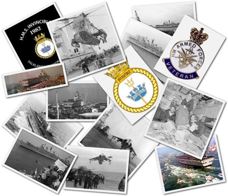 HMS Invincible - Falklands 1982 Reunion Website