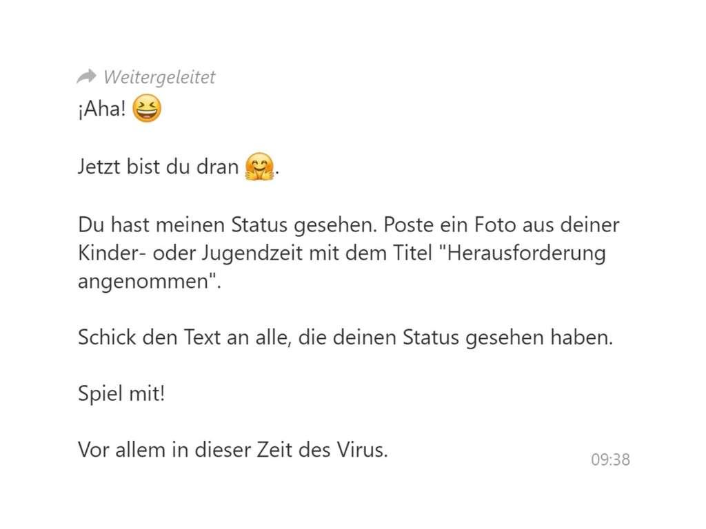 whatsapp kettenbrief geht viral