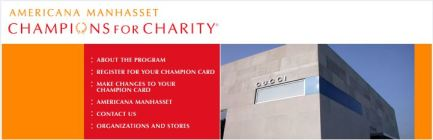 December 1-3, 2011 – Champions for Charity