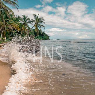 Panama Bocas del Toro Carenero Beach