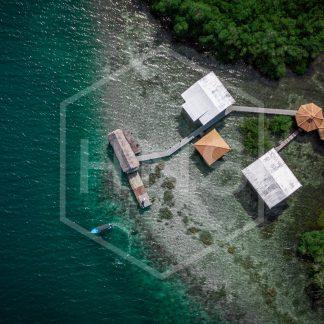 Bocas del Toro Drone Cayo Coral
