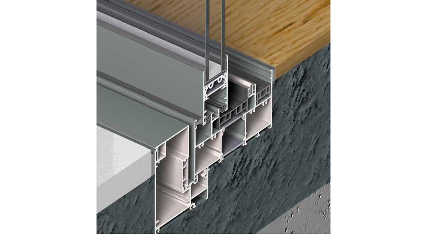 reynaers slim patio 68 aluminium