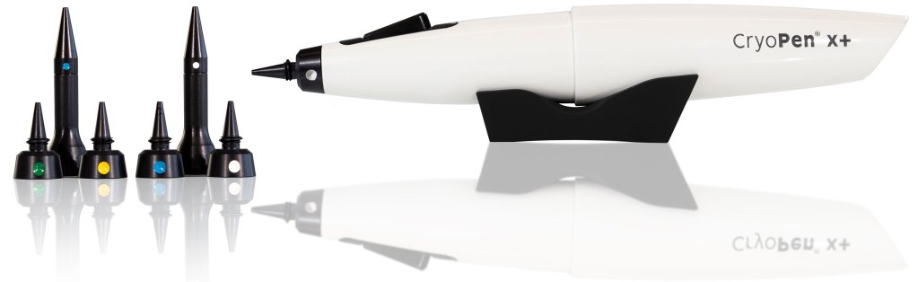 CryoPen X+ with applicators and support