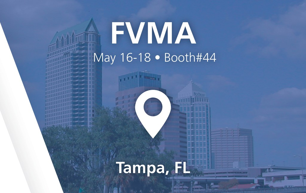 FVMA show - booth#44 in Tampa,FL - May 16-18