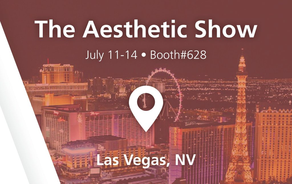 The Aesthetic Show - booth#628 in Las Vegas, NV