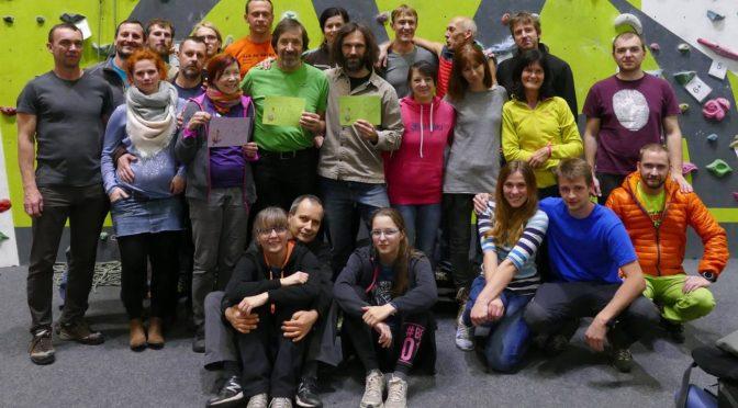 Lezecký maraton 3. ročník – 8.12.2018