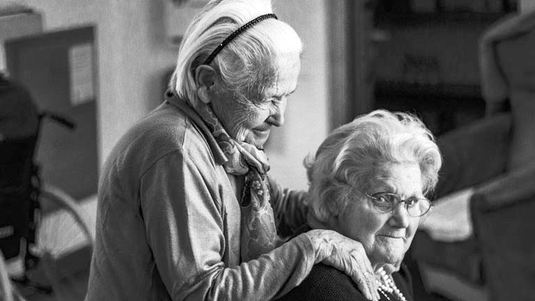 El virus en las residencias de personas mayores