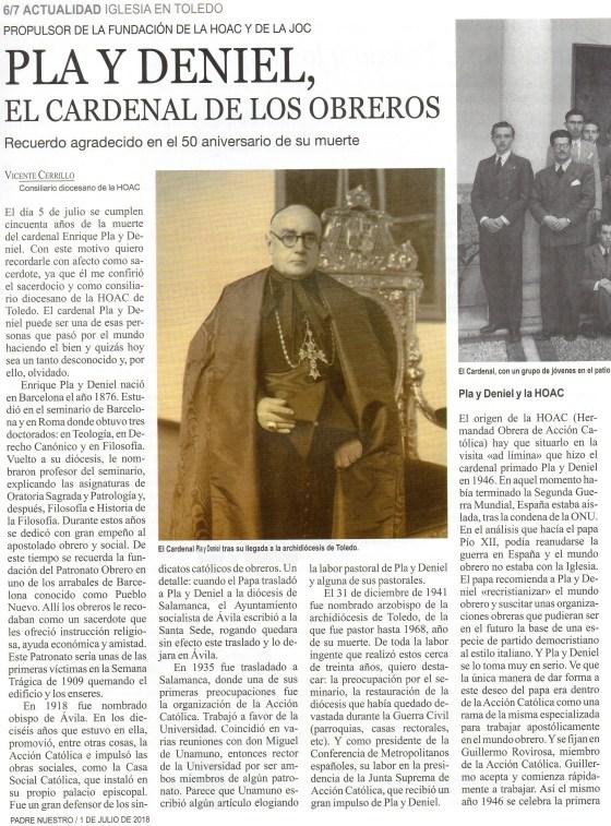 Artículo de Vicente Carrillo
