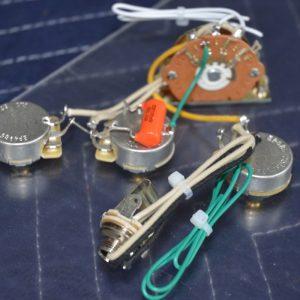 """Robert Cray"" model Stratocaster Style Wiring Harness | Hoagland Custom"