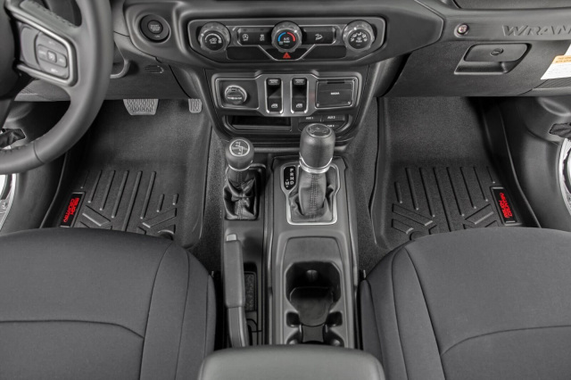 Rough Country 2020 Jt Gladiator Floor Mats Front Amp Rear W