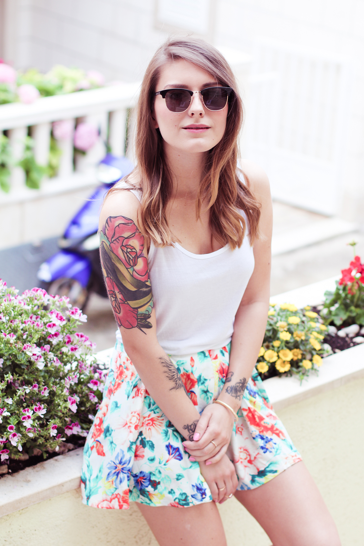 Floral Short Suit Hoard Of Trends Personal Style