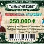bill gates lottery