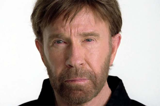Picture about Facebook Video - Chuck Norris Dies at Age 71