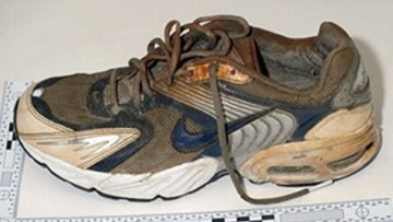 Picture about Mysterious Foot Washes Ashore in Canada, the 11th Since 2007