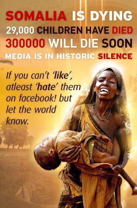 Picture about Somalia is Dying