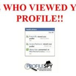 Picture about Who Views your Facebook Profile