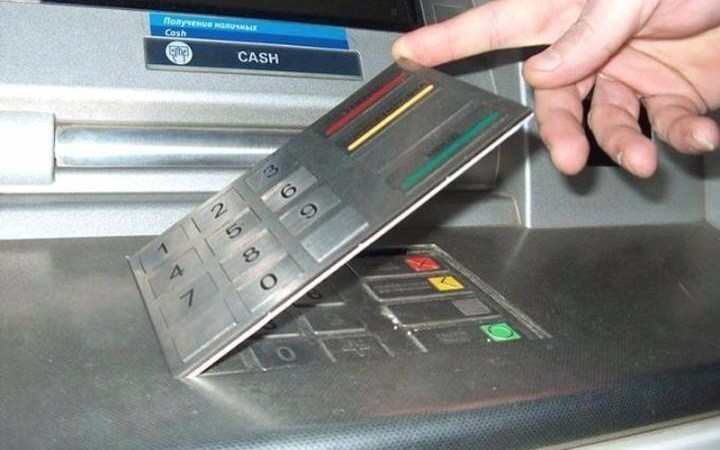 Fake Digital Pads in ATMs as a Skimming Device to Steal Information