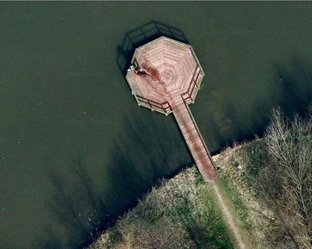 Picture about Google Map Discovers a Murder
