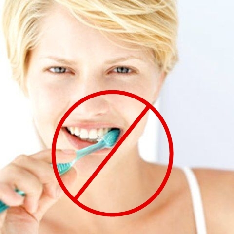 Picture: Never Brush Your Teeth After Eating These Foods