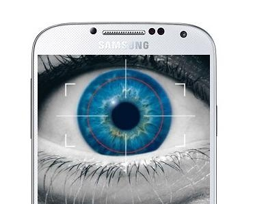 Picture about Samsung Galaxy S5 Will Scan Your Eyes
