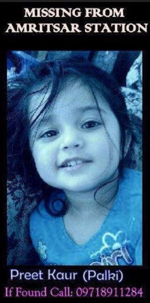 Picture about Preet Kaur (Palki) Missing
