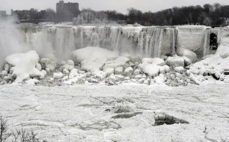 Niagara Falls Frozen in 2014, Pictures