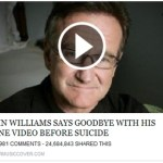 Picture about Robin Williams' Last Video Saying Goodbye, Scam