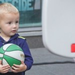 Picture about 2 Year Old Boy - Excellent in Basketball