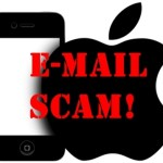 Picture about Apple I Phone Lottery Email Scams