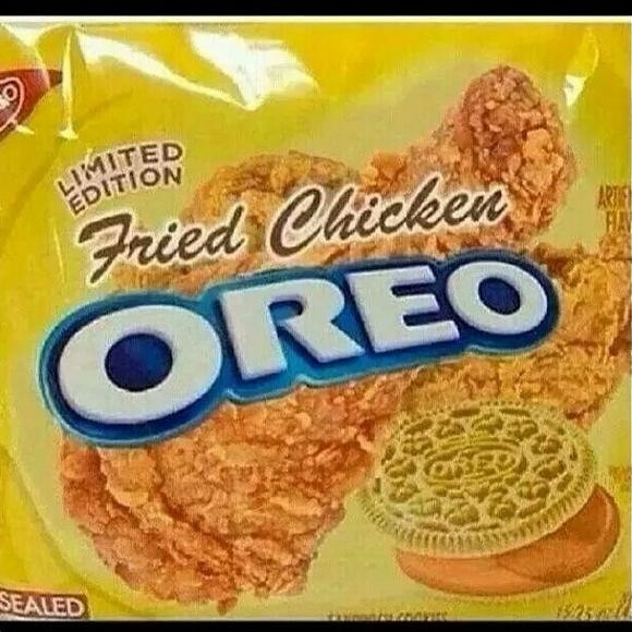 Picture about Fried Chicken Oreos