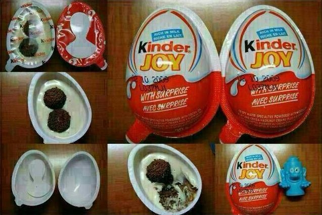 Kinder Joy Contains Wax Coating that Can Cause Cancer: Facts