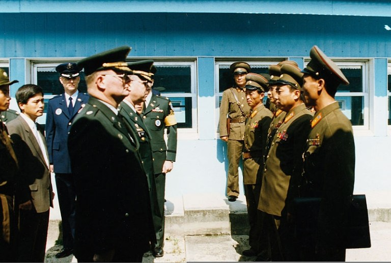Picture about North Koreans Attended a UN Meeting with AK-47s Inside Jackets, Americans Turned Up Room Temperature