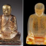 Picture about Scan Reveals This Buddha Statue Has Ancient Mummy Inside