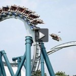 Picture about Terrible Roller Coaster Accident!