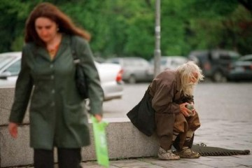 Picture about 98 Year Old Poor Man Begs to Donate Money to Church and Orphanage
