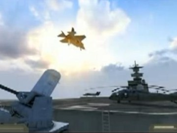 Picture from F35 Vertical Takeoff and Flip Video
