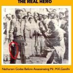 Picture of Nathuram Godse, the Assassin of Mahatma Gandhi