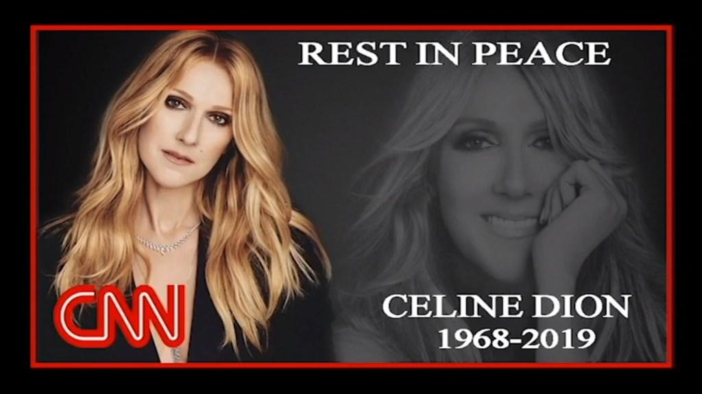 Image about Celine Dion Dies in a Plane Crash