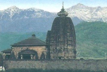 Picture Suggesting Only Indian Temple Built by a Britishman, Om Namah Shivay