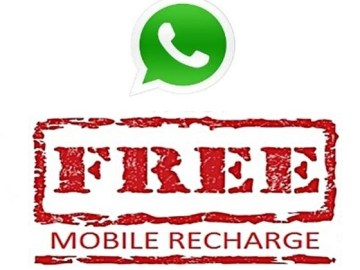 Picture about Share Message on WhatsApp Groups to Get Free Mobile Internet Recharge