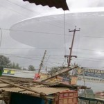 Picture Showing Huge UFO Disc Sighted Hovering Over Gorakhpur in Uttar Pradesh