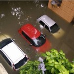 Picture about Vehicle Insurance Claim in Case of Floods - Do Not Start the Engine